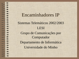PPT - Universidade do Minho