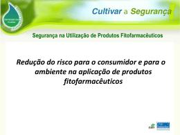 Segurança na Utilização de Produtos Fitofarmacêuticos