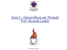 Concorrência em Threads - Algoritmos Genéticos, por Ricardo Linden