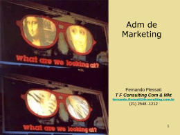 Slide 1 - TFS Comunicação & Marketing