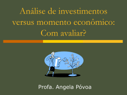 Palestra - Análise de Investimentos ()