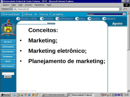 Aula 02 Marketing eletrônico