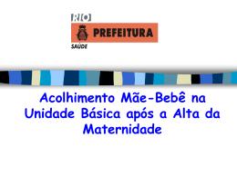 acolhimentomaebebe - Saúde-Rio