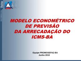 Ata Anexo 12 ARP Modelo Previsão ICMS SEFAZ BA