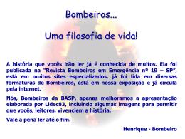 Bombeiro - Capital Social Sul