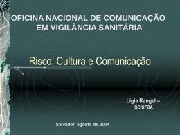 Risco, Cultura e Comunicação