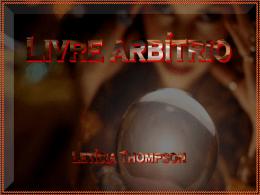 Livre Arbítrio - Letícia Thompson