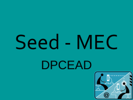 Seed - MEC - Portal do Professor
