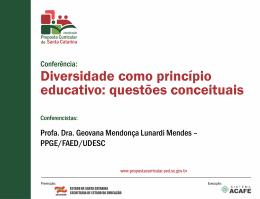 Apresentação do PowerPoint - Proposta Curricular SC 2014