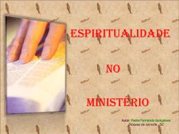 2,06MB - Espiritualidade no Ministério