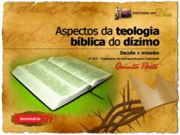 1090 aspectos da teologia biblica do dizimo