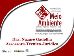Apresentação sobre Queimadas – Nazaré Gadelha – CDMA