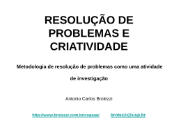 Apresentação 3 - Antonio Carlos Brolezzi