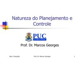 Aula04 - Planejamento e controle