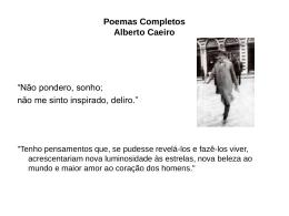 Poemas Completos Alberto Caeiro