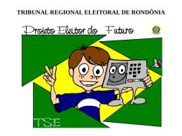 Slide de Apresentação do Programa - apps.tre-ro.jus.br