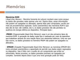 Memórias ROM - Mundo Linux