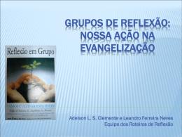 Grupos de Reflexão - Arquidiocese de Mariana