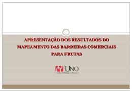 UNO Trade - Barreiras Frutas