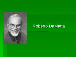 Damatta - Acadêmico de Direito da FGV