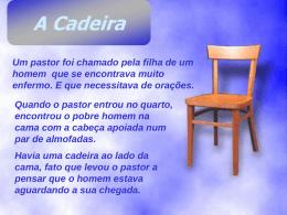 A Cadeira - Eu tenho um sonho