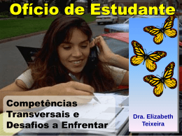 Ofício de Estudante - As Três Metodologias