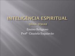 Inteligência Espiritual - Ensino Religioso (APOSTILA PARA ESTUDO)