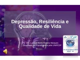 Depressão, resiliência e qualidade de vida