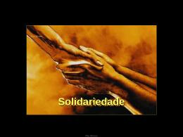 Apresentação - Solidariedade