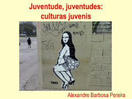 Faça o da aula Cultura Juvenil