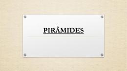 PIRÂMIDES - Mendel Vilas