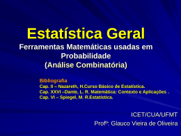 3. Analise Combinatoria