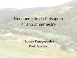 Princípios e praticas de Restoração da paisagem, de