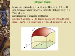 f(x, y) é integrável em [a,b] - Professora Edmary