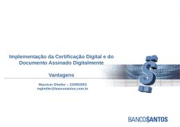 Seminário Febraban de Certificação Digital