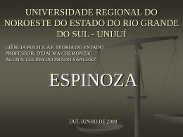 UNIVERSIDADE REGIONAL DO NOROESTE