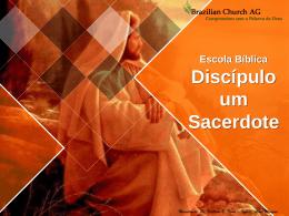 Escola Bíblica Discípulo um Profeta