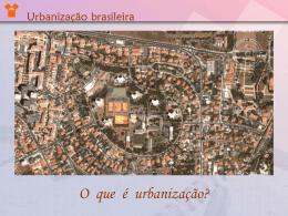 Urbanização Brasileira I