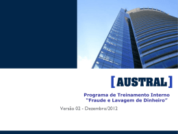 Fraudes em Seguros - Austral Resseguradora