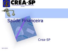 Apresentação do PowerPoint - Crea-SP