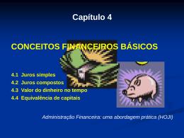 cap4 conceitos financeiros