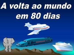 A volta ao mundo em 80 dias (7º ano B)