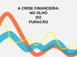 a crise financeira