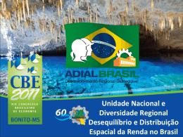 Ipojuca, em Pernambuco Unidade Nacional e Diversidade