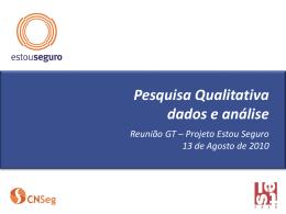apresentação do relatório qualitativo arquivo PPT