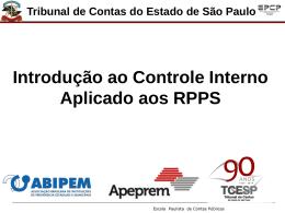 Introdução ao Controle Interno - Dr. Paulo Massaru
