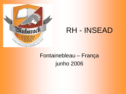 As lições sobre RH provenientes do instituto INSEAD