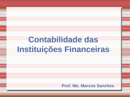 princípios da administração bancária
