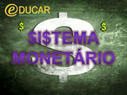 Sistema monetario.