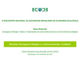 Carlos Lessa Brandao – Georgescu e o decrescimento_ECOECO
